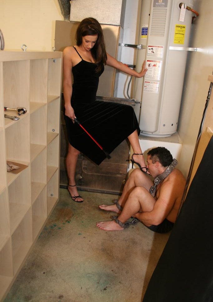 Slave is waiting for his wife