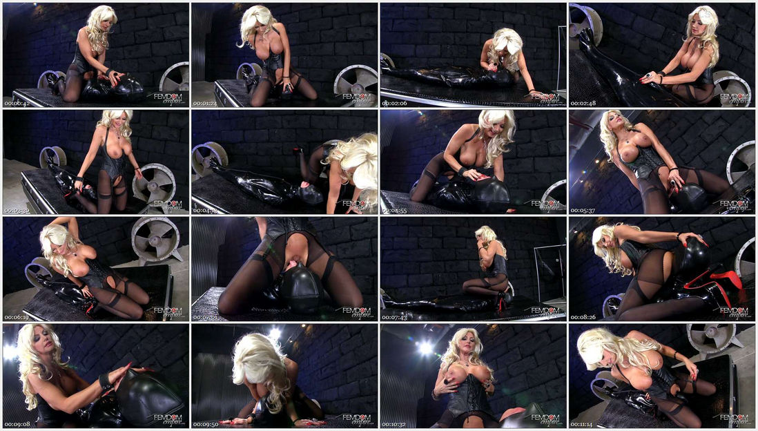Brittany Andrews – Rubber Gimp Face Fuck