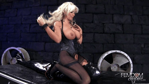 Brittany Andrews – Rubber Gimp Face Fuck_cover