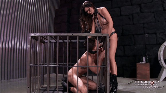 Kendall Karson – Caged Fuck Pet_cover
