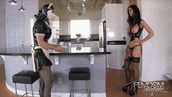 Kendall Karson – Punished Rubber Maid