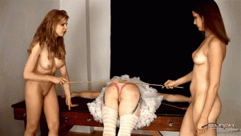 Candle Boxx – Ms Addie Juniper – Caning Sissy BITCH