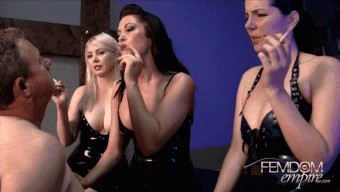 Alexandra Snow – Deanna Storm – Lexi Sindel – 3 Mistress Ashtray