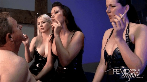 Alexandra Snow – Deanna Storm – Lexi Sindel – 3 Mistress Ashtray_cover