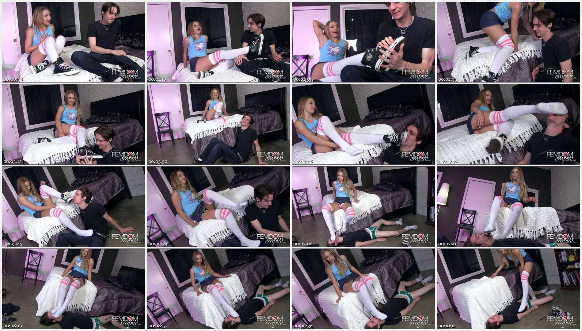 Alyssa Branch – Babysitter\'s smelly socks