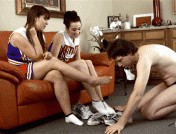 Amy White – Anna Lee – Clean our sweaty feet