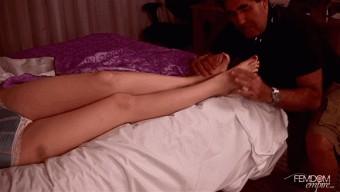 Angela Ryan – Nightly Foot Rub