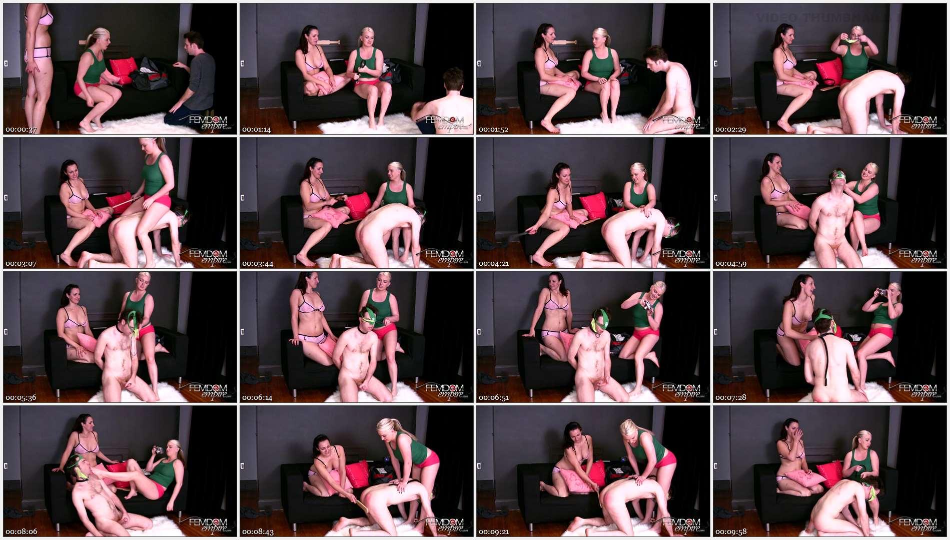 Angelique – Lexi Sindel – Sorority girls bust Panty Raid Pervert