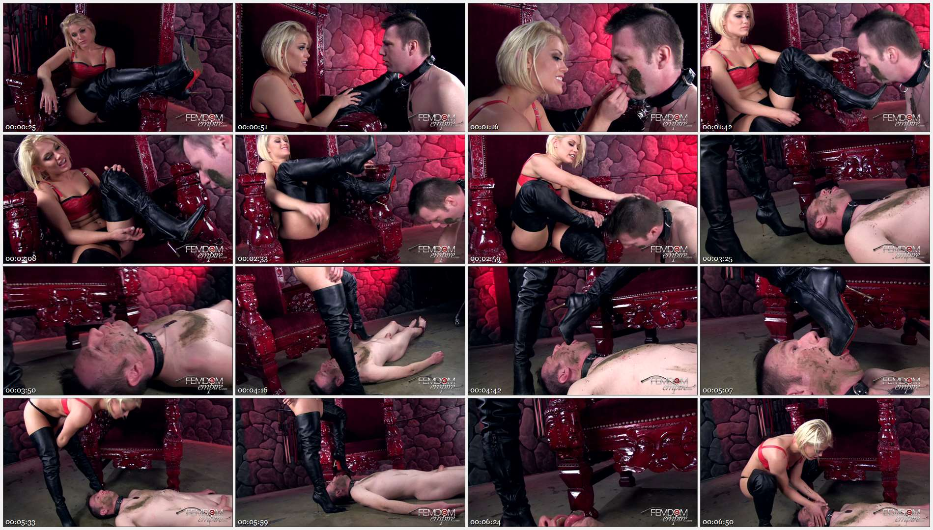 Ash Hollywood – Boot Scum Licker