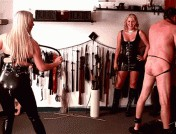 Ashley Edmonds – Lexi Sindel – Whipping the Stable Slave