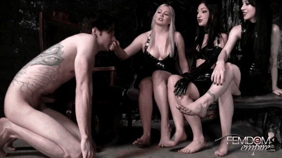 Cybill Troy – Lexi Sindel – Mina Thorne – Filthy Foot Wipe_cover