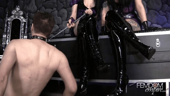 Cybill Troy – Mina Thorne – Degraded Muddy Boot Licker_cover