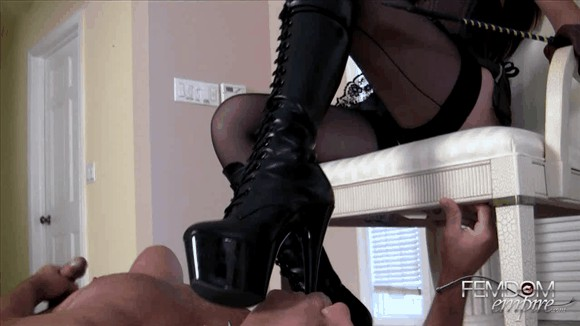 Deanna Storm – Boot Bitch for Mistress_cover