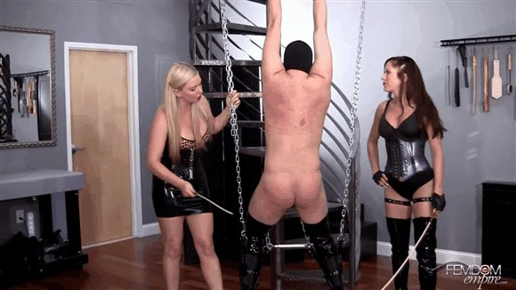 Deanna Storm – Lexi Sindel – Ballet Boot Caning_cover