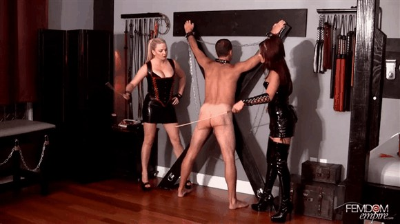 Deanna Storm – Lexi Sindel – Relentless Caning_cover
