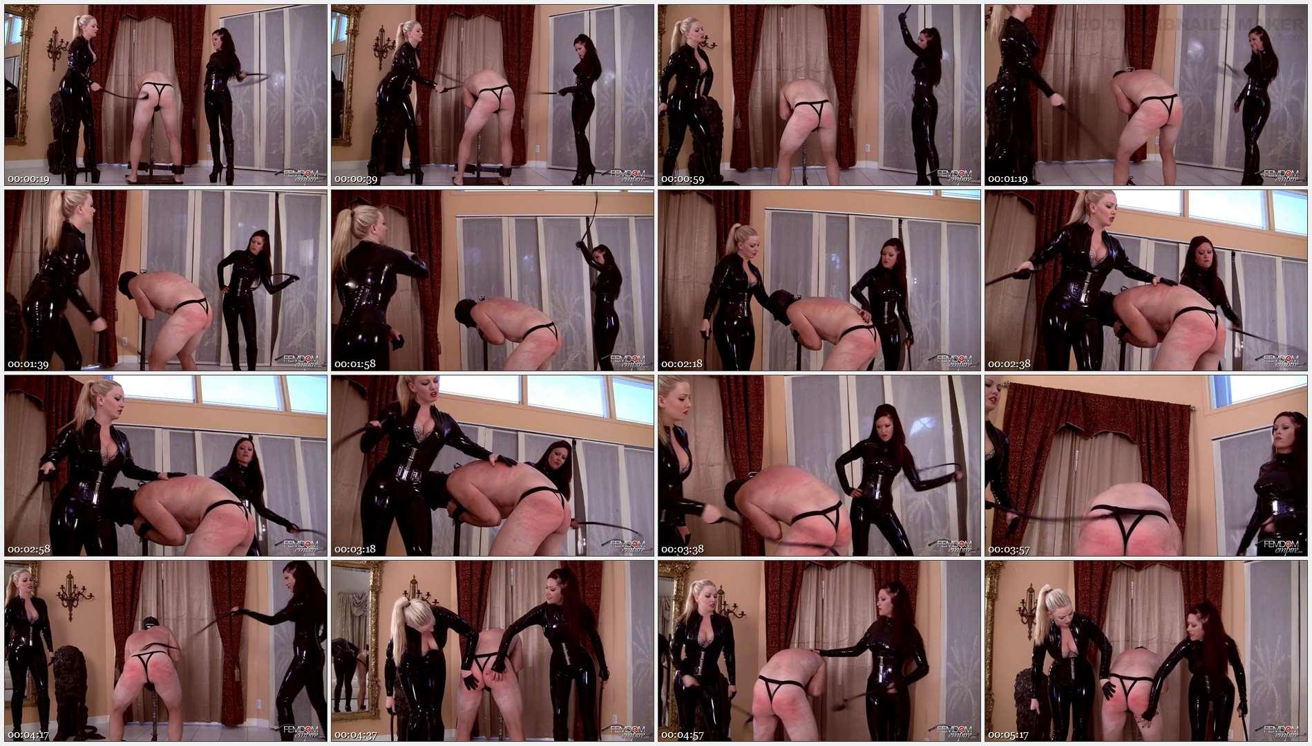 Deanna Storm – Lexi Sindel – Whipping Punishment