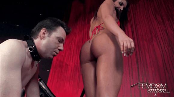 Giselle Leon – Cum on slaves face_cover