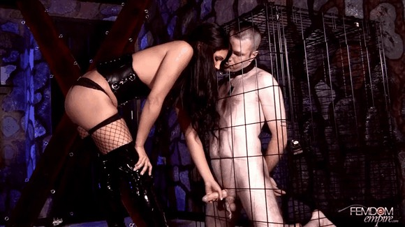 Jade Indica – Caged, Teased, and Milked_cover