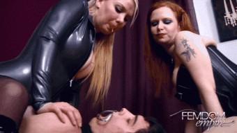 Jordan Jones – Lexi Sindel – Spit Humiliation