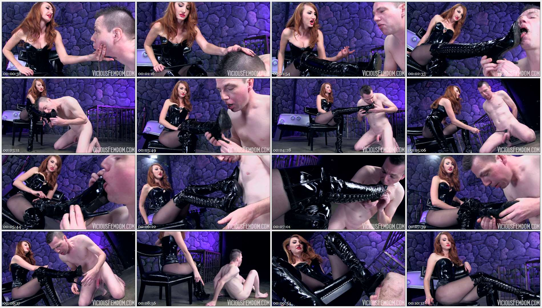 Kendra James – Disgusting boot pig