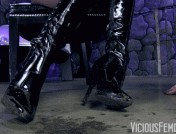 Kendra James – Disgusting boot pig