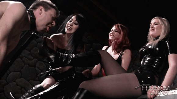 Kendra James – Lexi Sindel – Mina Thorne – Dirty Boot Wipe_cover