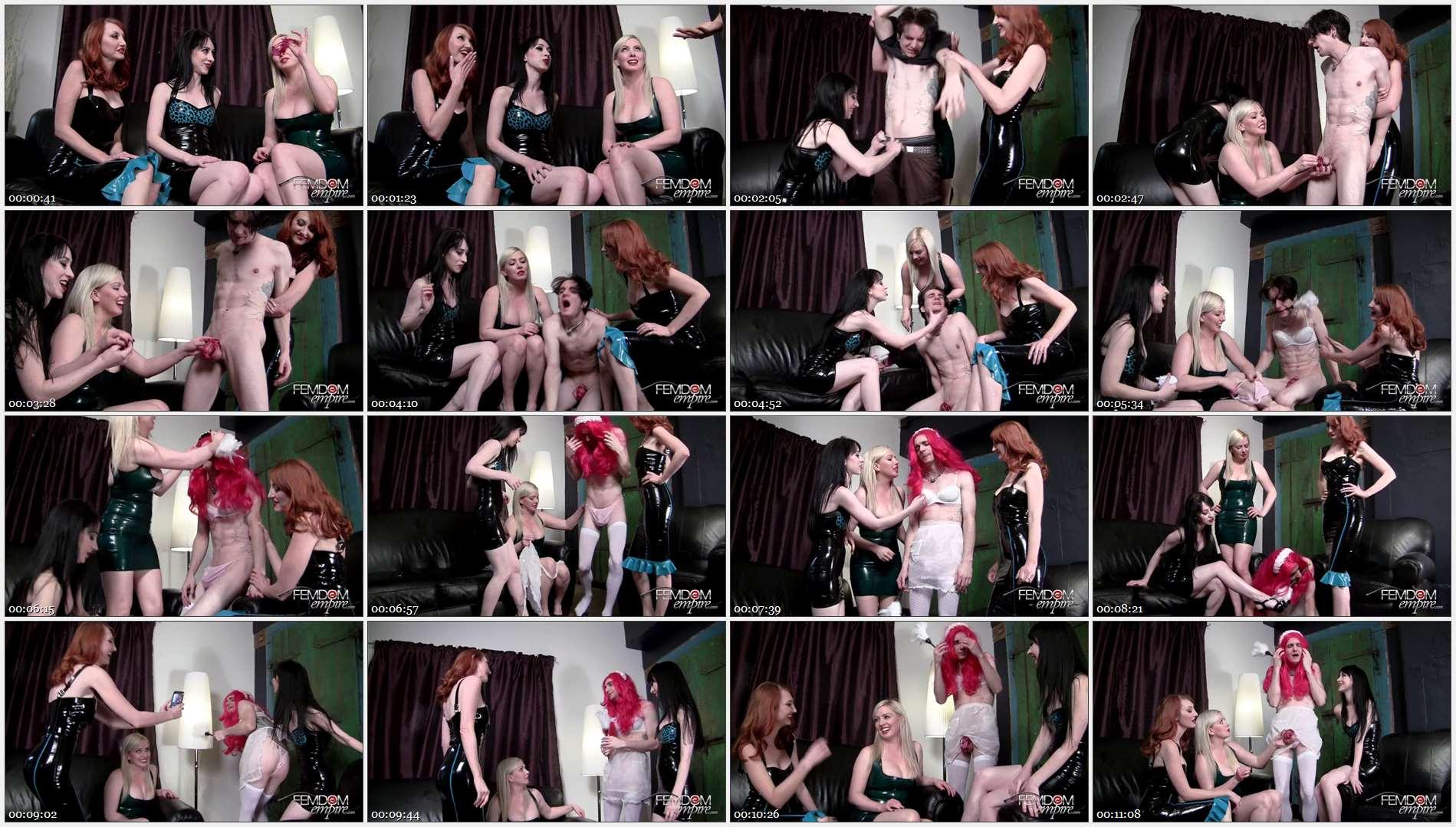 Kendra James – Lexi Sindel – Mina Thorne – Roommate Humiliation