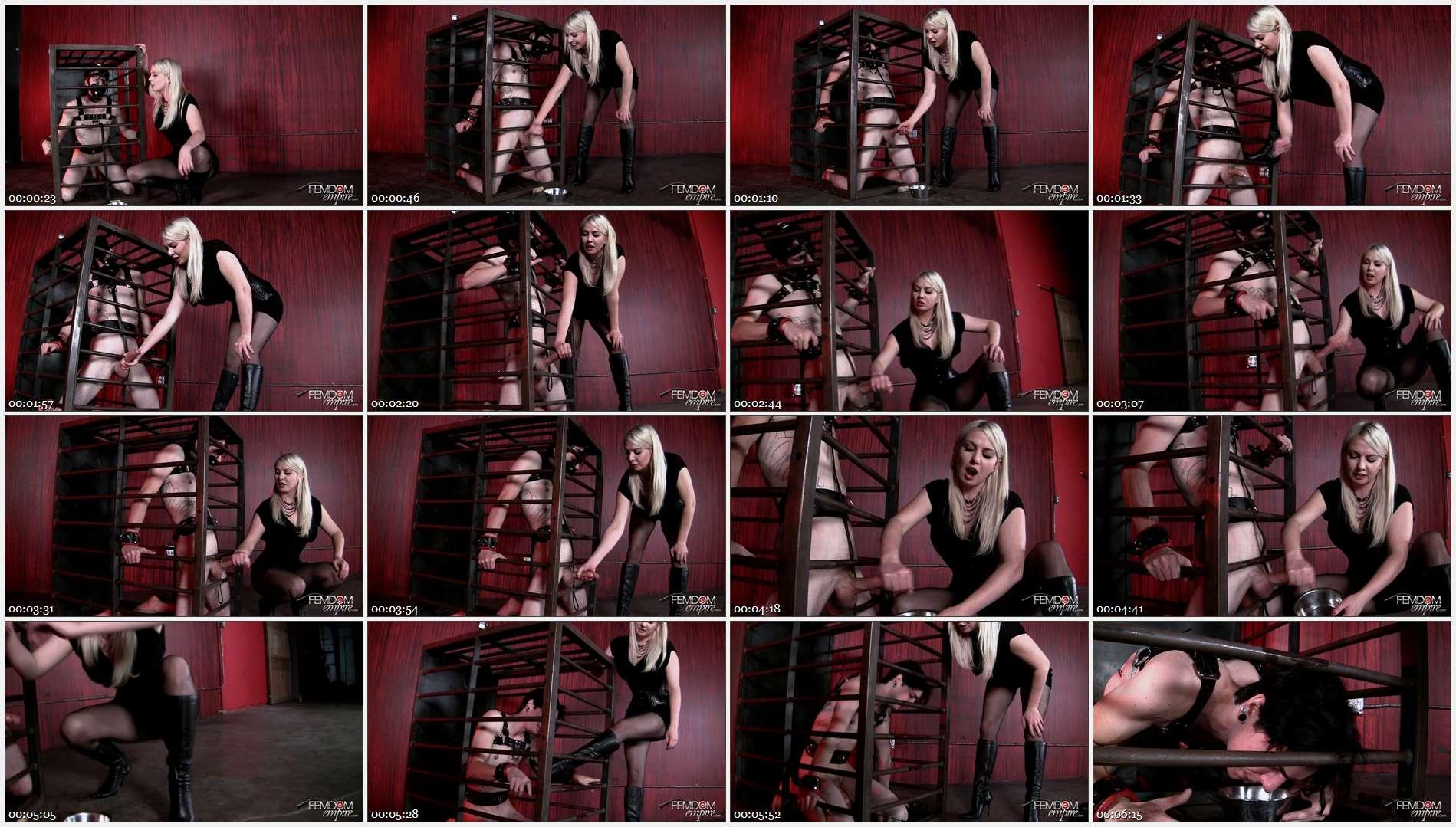 Lexi Sindel – Caged Cum Extraction