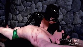 Lexi Sindel – Catwoman Milking