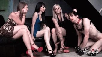 Lexi Sindel – Mina Thorne – Mistress T – Foot Licking Pup