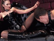 Yasmin Scott – Boot Polishing Bitch-Pet