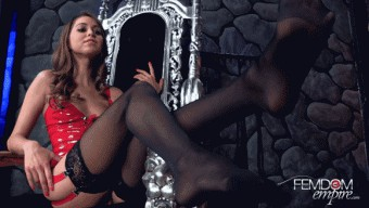 Riley Reid – Bitchy Foot Princess