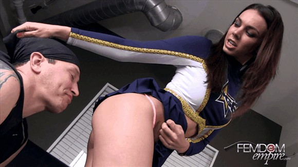 Tiffany Tyler – Cheerleader in Charge_cover