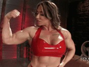 Brandi Mae – Superior Muscle Goddess