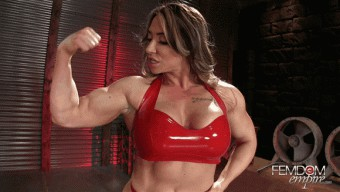 Brandi Mae – Superior Muscle Goddess
