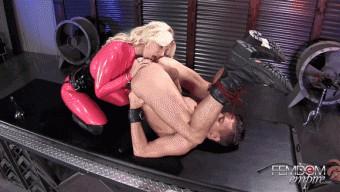 Brittany Andrews – Slave Alexander – Dominating His Fuckhole