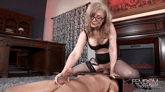 Nina Hartley – Slave Alexander – Plaything Cock Jerk_cover
