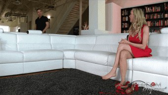 Brandi Love – Mean Milf Foot Slave