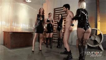 Alexandra Snow – Kendra James – Lexi Sindel – Mina Thorne – Legendary Ballbusting #2