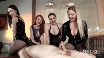 Alexandra Snow – Kendra James – Lexi Sindel – Mina Thorne – Premature Orgasm Ruiner