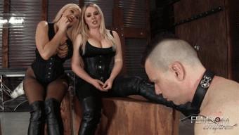 Lexi Sindel – Summer Brielle – Filthy Boot Fucker