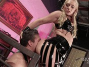 AJ Applegate – Caged milking