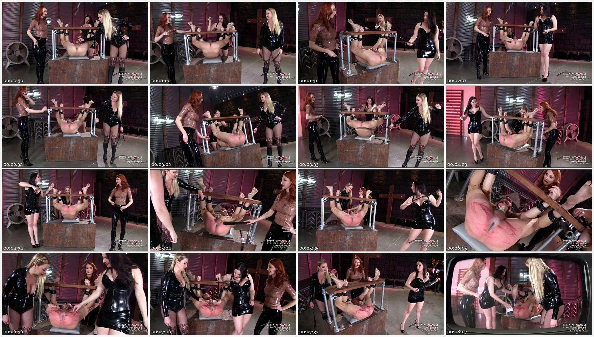 Alexandra Snow – Kendra James – Lexi Sindel – Spread Wide and Beaten Red