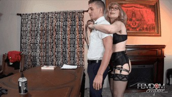 Nina Hartley – Slave Alexander – Strapon Correction
