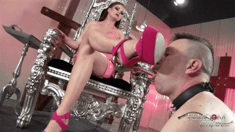 Tina Kay – Arrogant Princess Foot Worship