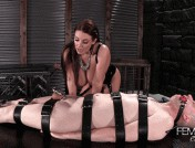 Angela White – Chastity Milking Eruption