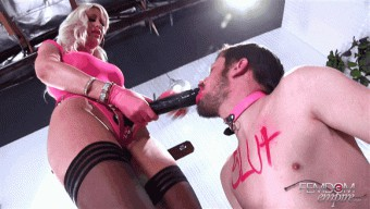 Riley Jenner – SLUT for the Strap