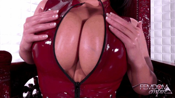Angela White – Slave to Tits_cover