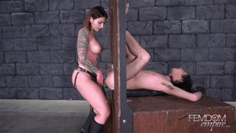 Ivy Lebelle – Pegging Glory Hole