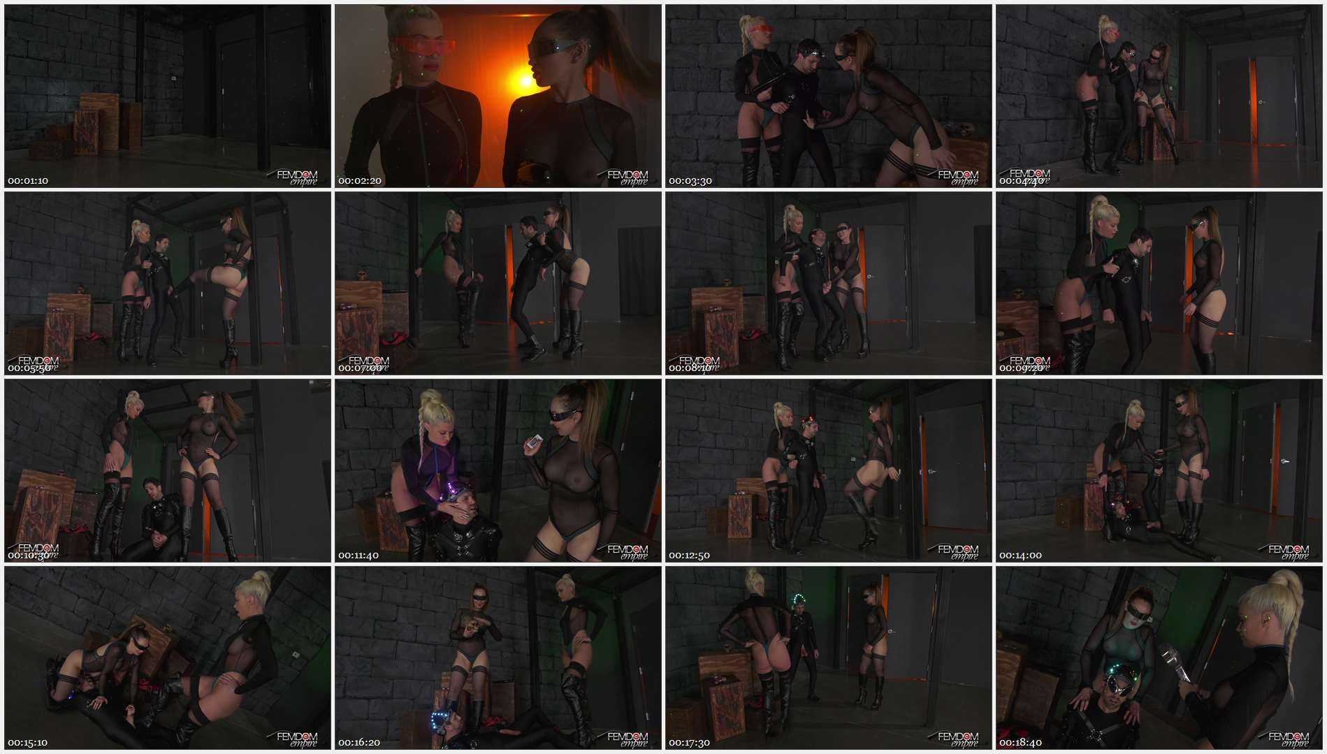 Riley Jenner – Yasmin Scott – Space Clits: The Ballbusting